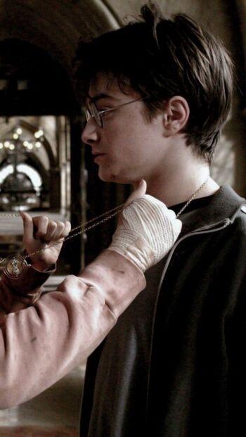 Foto Profil WA Couple Harry Potter F8534