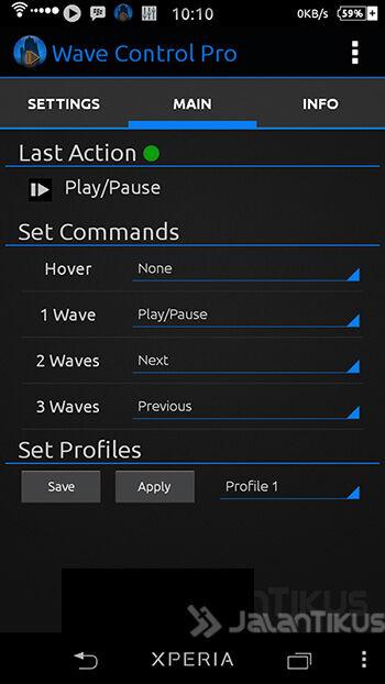 Cara Mengendalikan Pemutar Musik Android Tanpa Disentuh 3