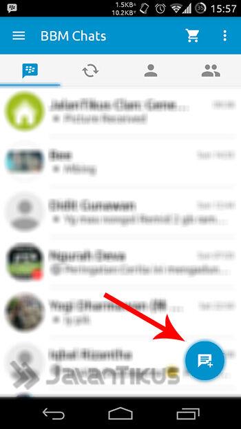 Chat Bbm Tanpa Invite 1