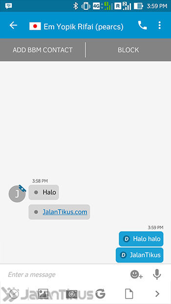 Chat Bbm Tanpa Invite 4