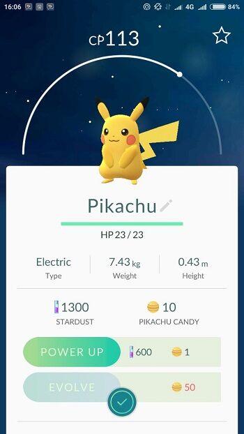 Cara Mendapatkan Pikachu Di Pokemon Go 3