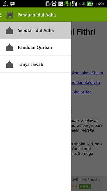 Aplikasi Qurban 2016 Panduan Idul Adha