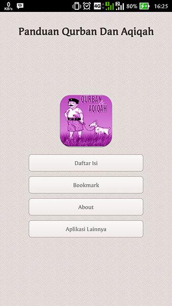 Aplikasi Qurban 2016 Panduan Qurban Dan Aqiqah