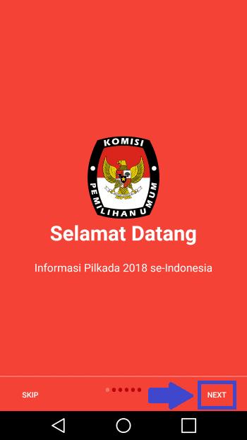 Cara Pantau Hasil Pilkada 2018 Lewat Hp 2 A7422