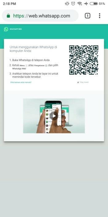 Cara Melihat Barcode Whatsapp 0f152