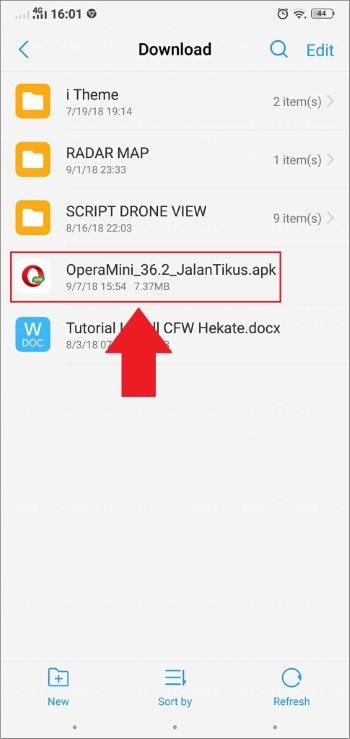 Download aplikasi opera mini terbaru