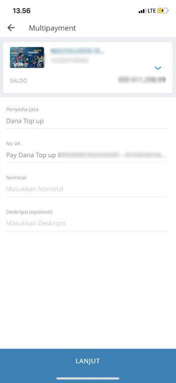 Cara Top Up Dana Via M Banking Bca 5 Dbed8