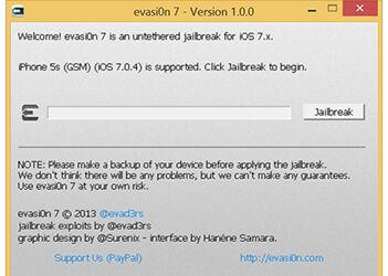 Cara Jailbreak IOS 7 0 4 Unthetered Dengan Evasi0n 7 1