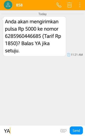 Cara Transfer Pulsa Telkomsel 2 307b3