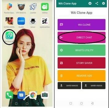 Cara Langkah Install Pasang Aplikasi Whatsapp Clone Apk Terbaru 2020 2 Custom Custom 9a2af