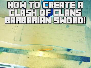 Membuat Pedang Barbarian 1
