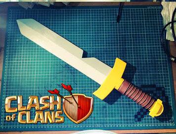 Membuat Pedang Barbarian 6