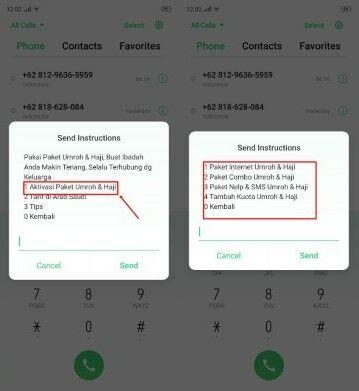 Daftar Paket Haji Xl Dial 2 B910a