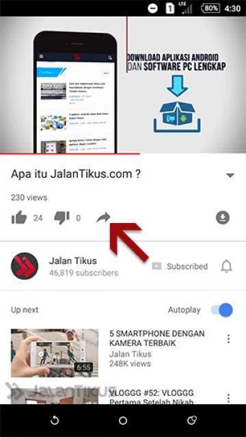 cara download video youtube gratis di android