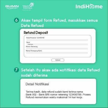 Cara Refund Indihome Aplikasi 7dca8