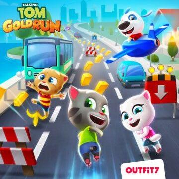 Download Talking Tom Gold Run MOD APK Versi Terbaru 7185c