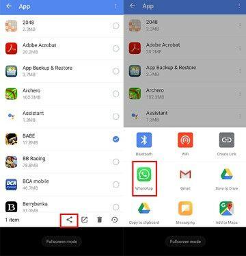 Cara Kirim Aplikasi Lewat Bluetooth D17a6