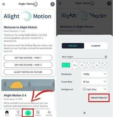 Download Alight Motion Pro Apk Custom 3d305