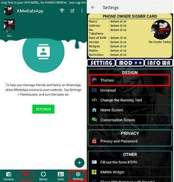 Cara Mengganti Tema Whatsapp Dengan Mudah Tanpa Root Da4b8