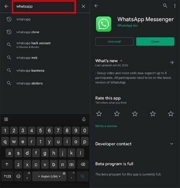 Cara Memperbarui Whatsapp Agar Bisa Video Call Fead2