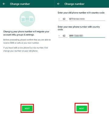Cara Ubah Nomor Whatsapp Di Android 63637