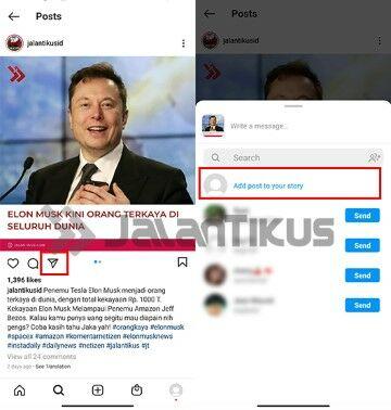 Cara Repost Instagram Tanpa Aplikasi C3cde