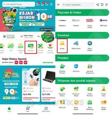 Cara Investasi Emas Online Di Tokopedia D900c