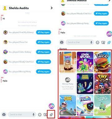 Cara Untuk Bermain Snap Game Snapchat Daf8b
