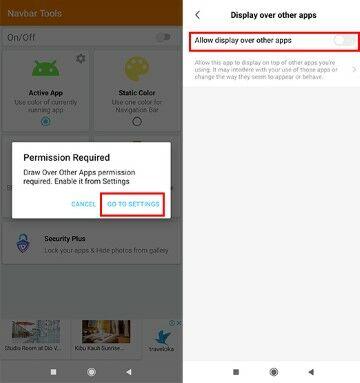 Cara Mengubah Warna Navigasi Bar Android Langkah Dua 44c07