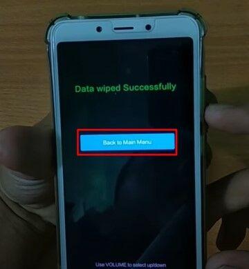 Cara Mereset Hp Xiaomi Custom 7e257
