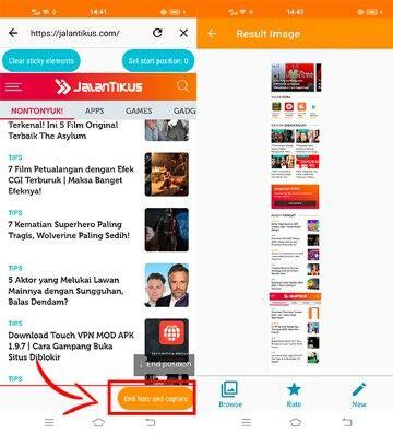 Cara Screenshot Panjang Hp Infinix 42cd4