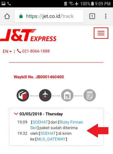 Cara Melacak Paket J&T Menggunakan dan Tanpa Resi - JalanTikus.com