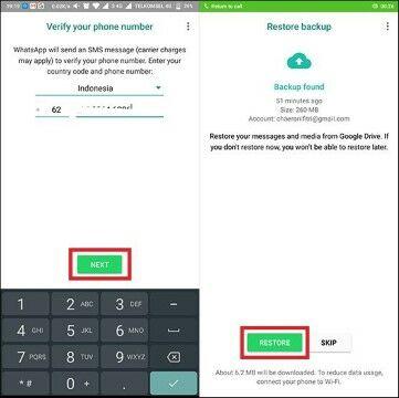 Cara Mengembalikan Akun Whatsapp Yang Terhapus 50ca5