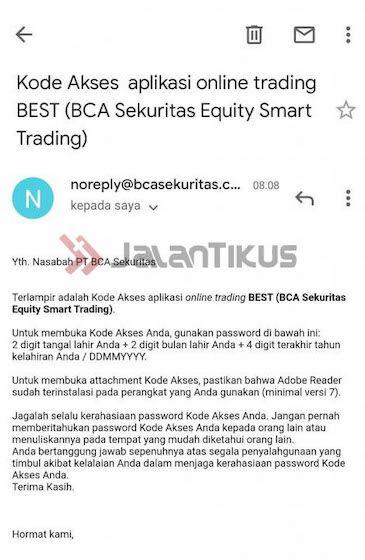 Kode Akses Bca Sekuritas Bc6b1