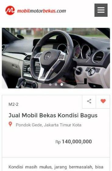 Aplikasi Jual Beli Mobil10 B020e