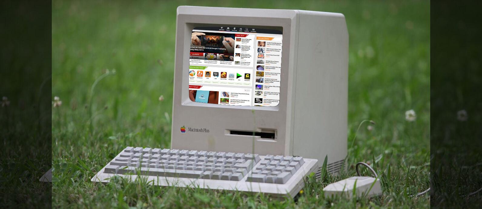 Begini Jadinya Kalau PC Jadul Tahun 80-an Dipakai Browsing