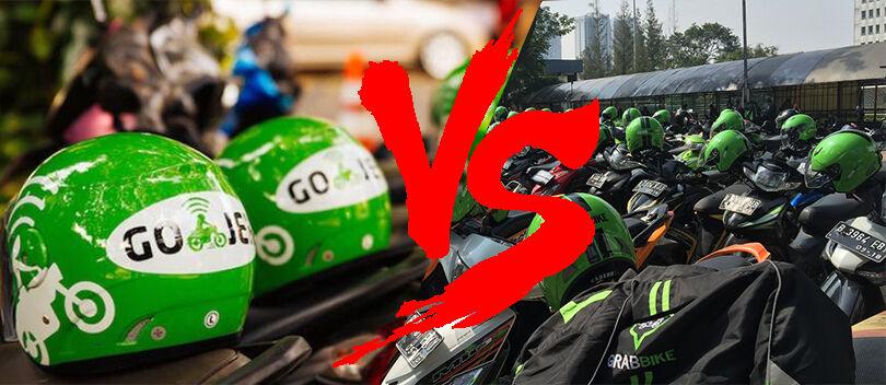 GO-JEK VS GrabBike, Mana yang Lebih Asyik?