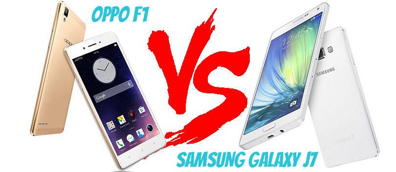 OPPO F1 VS Samsung Galaxy J7, Adu Smartphone Selfie 3 Jutaan