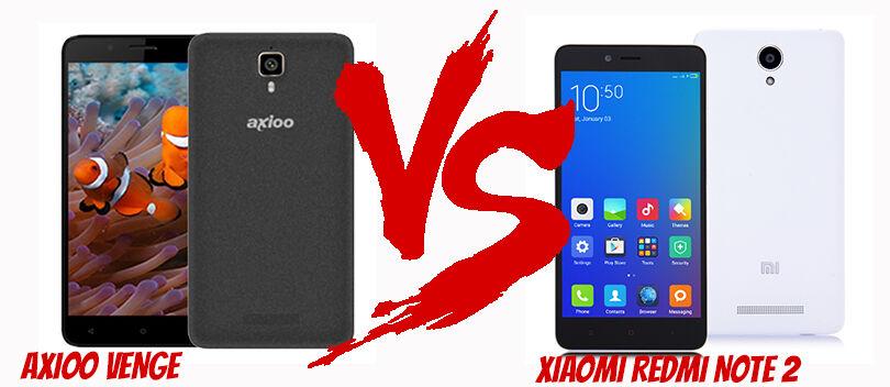Axioo Venge VS Xiaomi Redmi Note 2, Adu Smartphone Murah Fitur Mewah