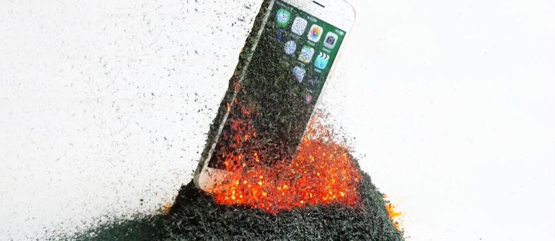 Video: Ini Jadinya Jika iPhone 6S Ditaruh di Gunung Api