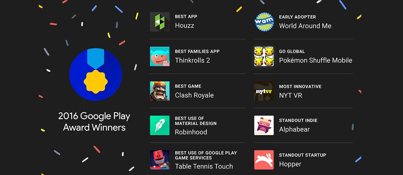 10 Aplikasi Android Terbaik 2016 Versi Google Play Store Awards