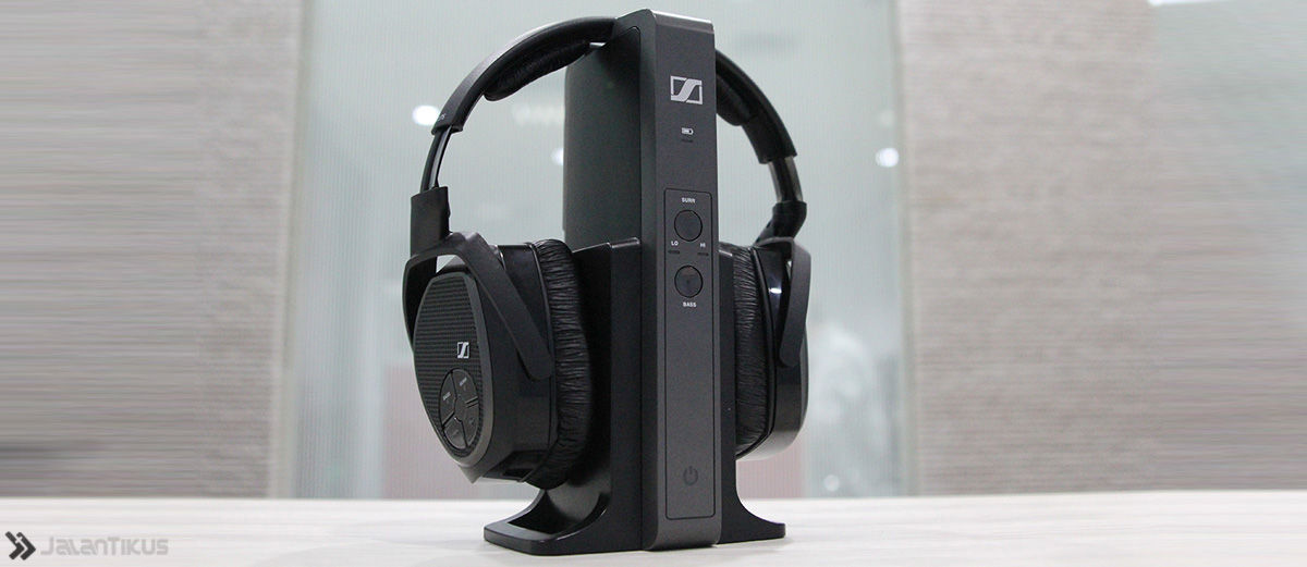 Sennheiser RS 175, Headphone Elegan dengan Suara Super Mewah