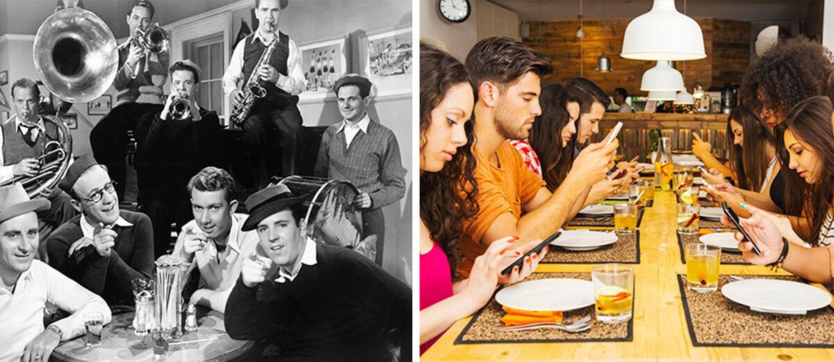 7 Foto Perubahan Jaman Dulu dan Sekarang Akibat Teknologi Canggih