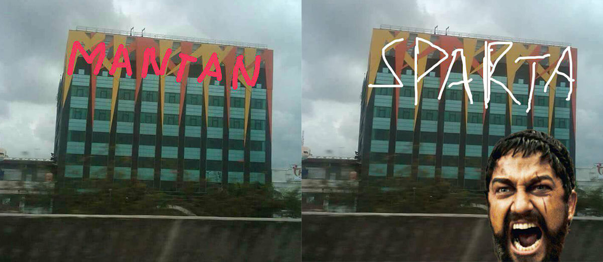 Bikin Ngakak! Inilah 25+ Gambar Lucu Plesetan Ornamen Hotel Alexis