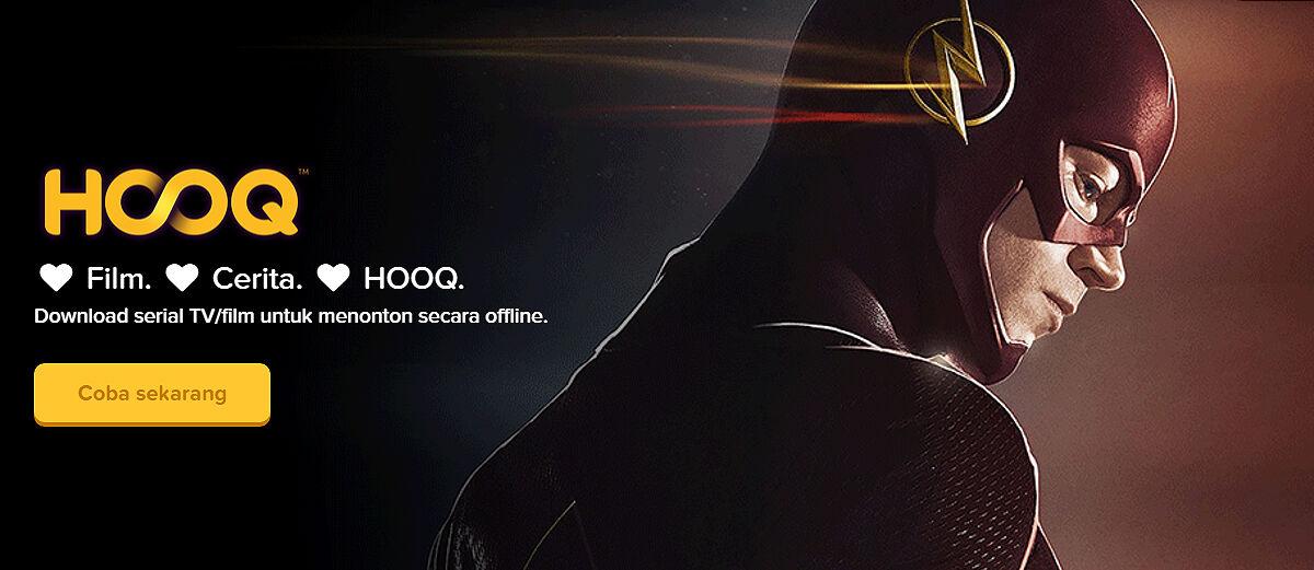 The Flash, Arrow dan Gotham Baru Kini Hadir di HOOQ!