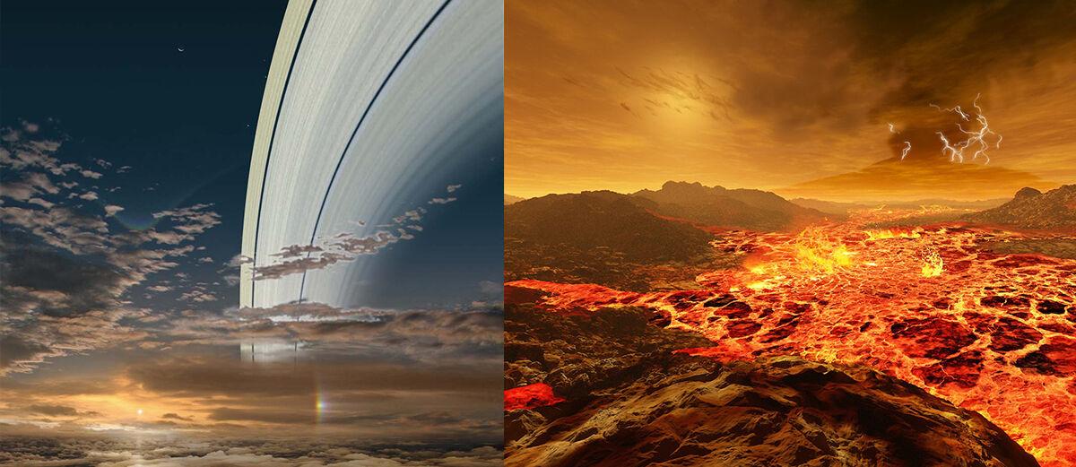 Keren! Inilah Pemandangan Matahari Terbit dari Berbagai Planet
