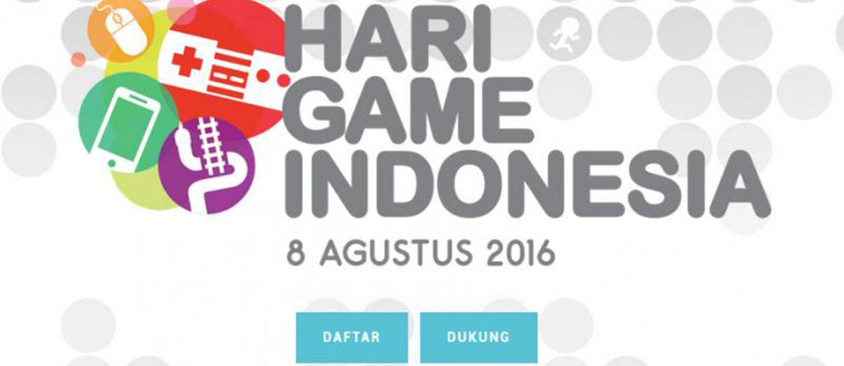 KABAR GEMBIRA, Kominfo Dukung Adanya Hari Game Indonesia!