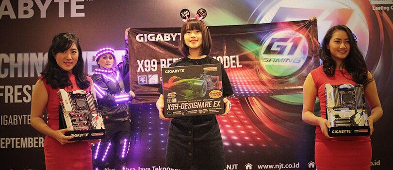 Resmi GIGABYTE X99 Refresh Model Hadir di Indonesia!