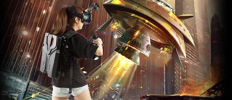 Main Game VR Seru Pakai Backpack 'VR One' Dari MSI, Harganya Hanya...