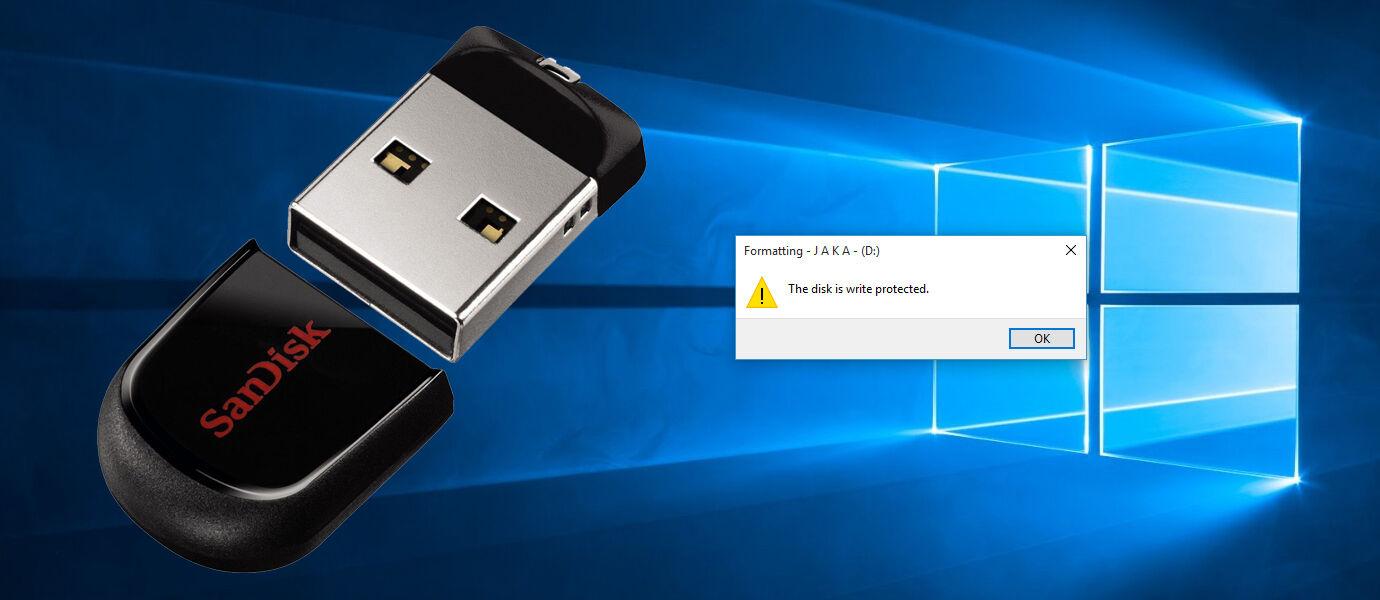 Solusi Kilat 30 Detik Mengatasi Masalah FlashDisk Write Protected